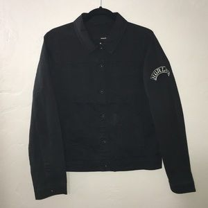Hurley Button up Jacket Excellent Condition